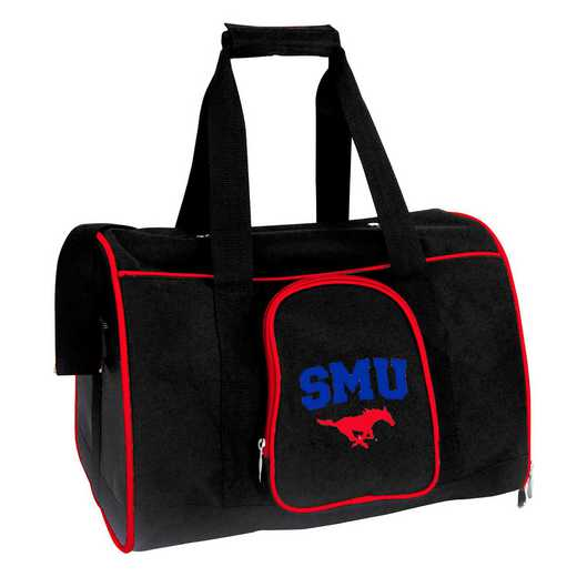 CLSML901: NCAA SMU Mustangs Pet Carrier Premium 16in bag
